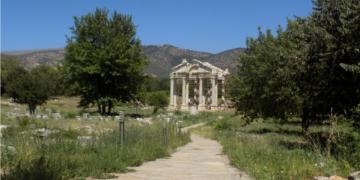 Afrodisyas arkeoloji müzesi için arazi hazır