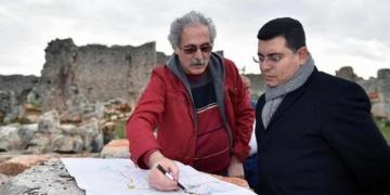 Lyrboton Kome Arkeopark projesi hızla ilerliyor
