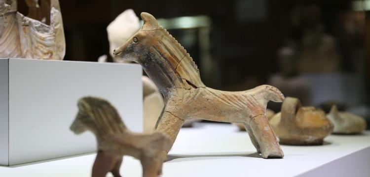 Karaman'ın oyuncak atları ziyaretçilerini bekliyor