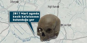 Demir çağından kalma kesik kadın kafatası bulundu