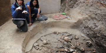 Meksikada Aztek çağı öncesi dairesel mezar keşfedildi