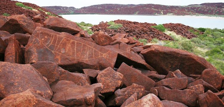 40.000 yıllık kaya sanatı göz göre göre eriyor!