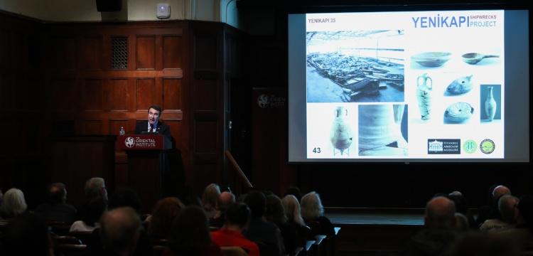 Yenikapı arkeoloji kazılarında bulunan iPad'in atası ABD'de anlatıldı