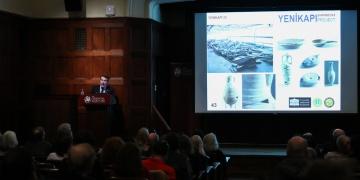 Yenikapı arkeoloji kazılarında bulunan iPadin atası ABDde anlatıldı