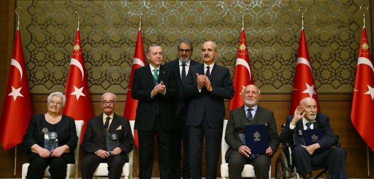 Kültür ve Turizm Bakanlığı Kültür Sanat Özel Ödülleri verildi