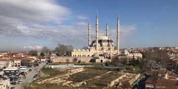 Selimiye Camisi Çevresi Kentsel Tasarım ve Peyzaj Projesi onay bekliyor