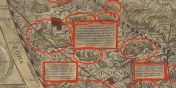 Eski haritalarda neden boşluk yok?