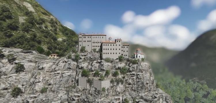 Kuştul Manastırı, yeterli bütçe olsa Sümela manastırına rakip olacak