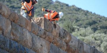 Büyük İskenderi durduran Termessos surları onarılıyor