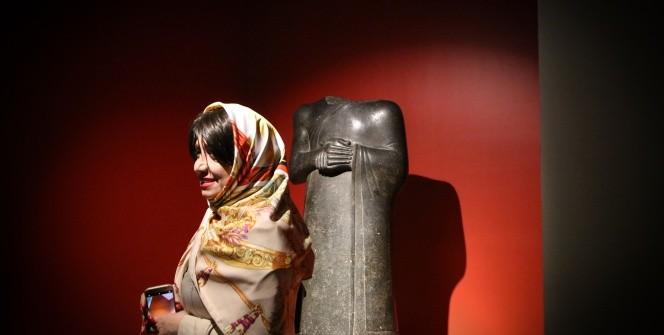 Louvre Müzesi eserleri Tahranda sergileniyor