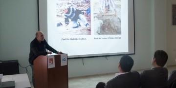 Prof. Dr. Muhibbe Darganın başlattığı arkeojik kazısı anlatıldı