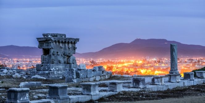Likyanın başkenti Xanthos Antik Kenti