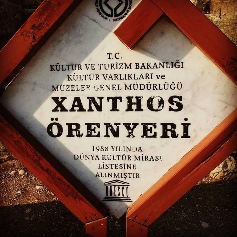 Likya'nın başkenti Xanthos Antik Kenti