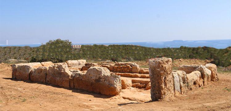 Karpaz'da 3 bin yıllık Fenike Tapınağı bulundu
