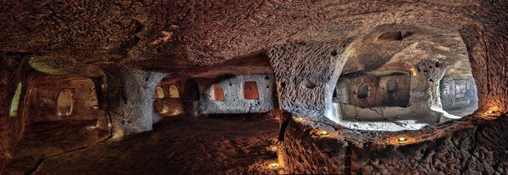 Nevşehir'deki dünyanın en büyük yeraltı şehri