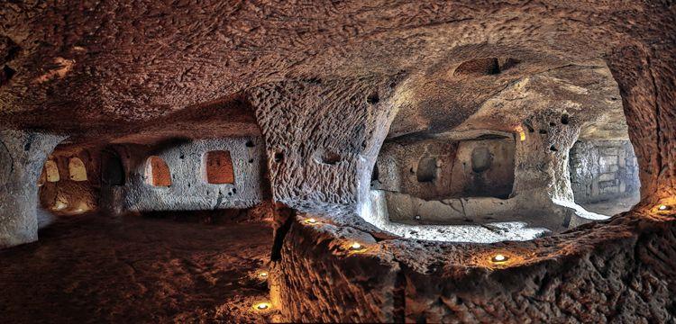 Nevşehir'in dev yeraltı şehrinin sarnıcı bulunamadı