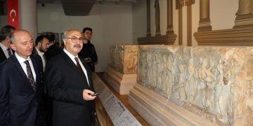 6 kez soyulan antik kentin frizleri müzeye taşındı