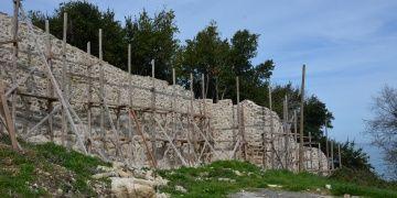 Düzcedeki Ceneviz Kalesinde restorasyon tekrar başladı