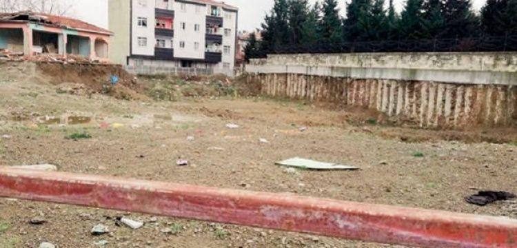 Eyüpsultan'da otopark yapılacak arazide tarihi eser bulundu