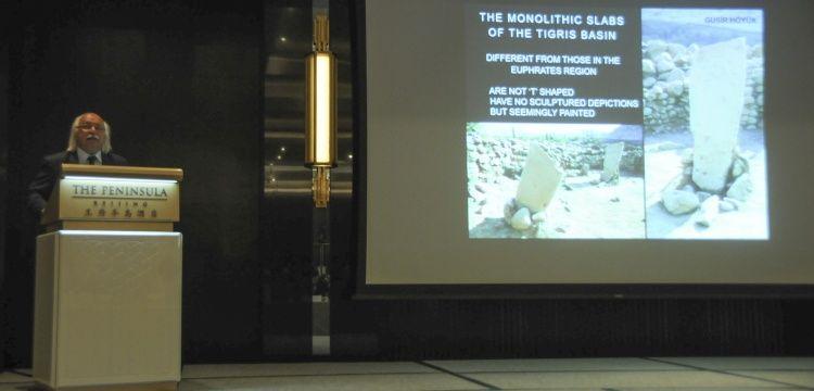 Prof. Dr. Mehmet Özdoğan, Göbeklitepe'yi Çin'e anlattı