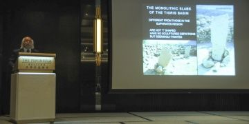 Prof. Dr. Mehmet Özdoğan, Göbeklitepeyi Çine anlattı