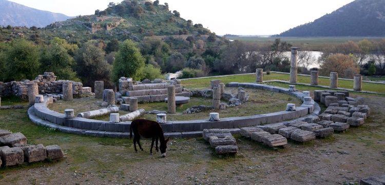 Kaunos Antik Kenti Muğla'nın gözde ören yeri