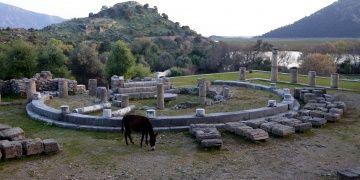 Kaunos Antik Kenti Muğlanın gözde ören yeri