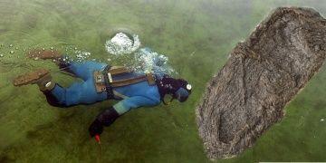 İsviçrede gölden 5 bin yıldır bozulmamış ayakkabı çıkarıldı