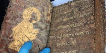 Aksarayda tarihi eser olduğu sanılan İncil yakalandı
