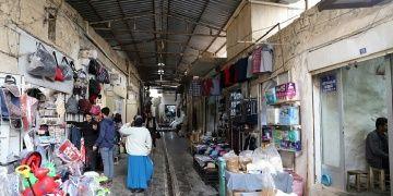 Mardinin çarşı ve sokaklarında restorasyonlar sürüyor