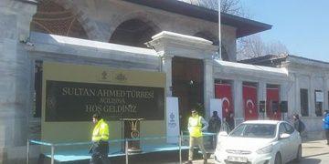 Sultan Ahmed Türbesinin restorasyonu tamamlandı