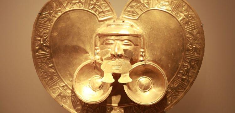 Kolombiya Museo del Oro ile altın dolu tarihini sergiliyor