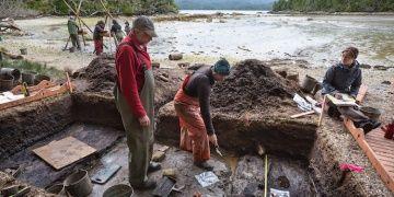 Kanadada bulunan 13 bin yıllık insan ayak izleri