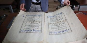 Topkapı Sarayından kaçırıldıği iddia edilen 600 yıllık Kuran