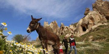 Bir başkadır Kapadokyada ilkbahar