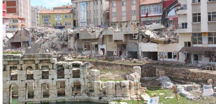 Yozgat Basilica Therma'da arkeoloji kazı alanı genişletildi