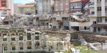 Yozgat Basilica Thermada arkeoloji kazı alanı genişletildi