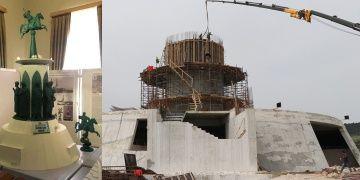 Uluslararası Köroğlu Parkının inşaatı sürüyor