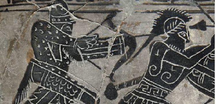 Antik Atina kentinin polisleri: İskit Okçuları