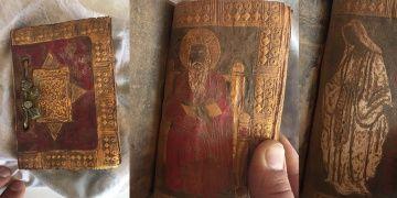 Aksarayda tarihi İncil yakalandı: 4 gözaltı