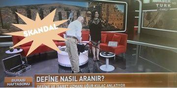 Definecilik Habertürk TVde Kulaç attı, dedektör pazarladı