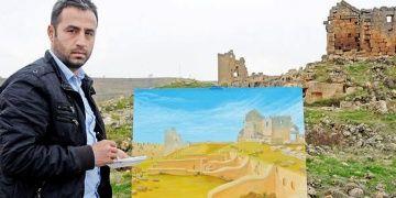Arkeoloji kazılarında keşfedilen ressam: Cahit Caner