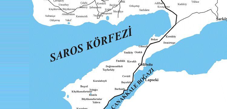 Saros Körfezi'nde Osmanlı Kalesi keşfedildi
