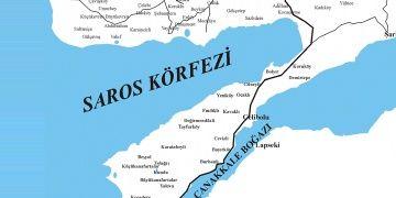 Saros Körfezinde Osmanlı Kalesi keşfedildi