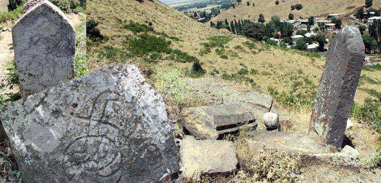 Bitlis'in Güroymak ilçesinde tarihi mezarlar keşfedildi