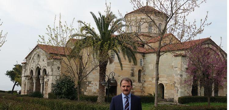 Trabzon'un Ayasofya'sında restorasyon başladı