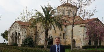 Trabzonun Ayasofyasında restorasyon başladı