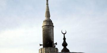 Restorasyondaki Teşvikiye Camisinde yangın çıktı