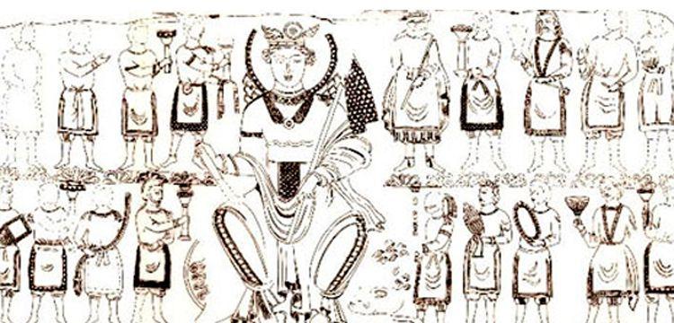 Özbekİstanda 1500 yıllık eŞsİz TanrıÇa Nana tasvİrİ bulundu
