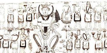 Özbekistanda 1500 yıllık eşsiz Tanrıça Nana tasviri bulundu